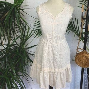 MARC BY MARC JACOBS Eyelet Lace Sun Dress